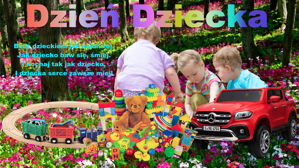 Plakat dzień dziecka 2019